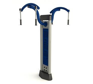 双柱上肢牵引器
