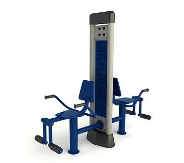双柱小腿训练器