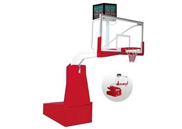 豪华电动液压篮球架